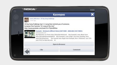 Kasvopus App for Nokia phones
