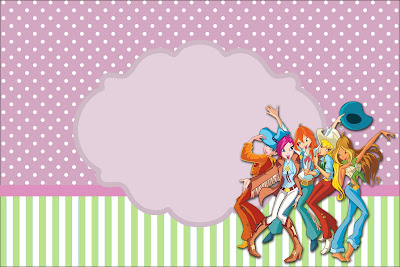 Winx Free Printable Party Invitations And Images Is It