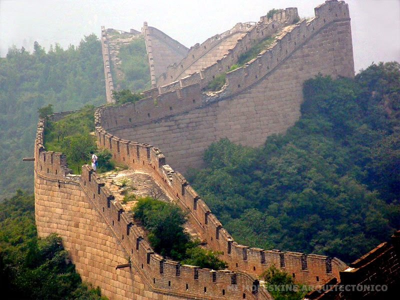 La gran muralla china importancia de la ingenier a y la for Q es la muralla china