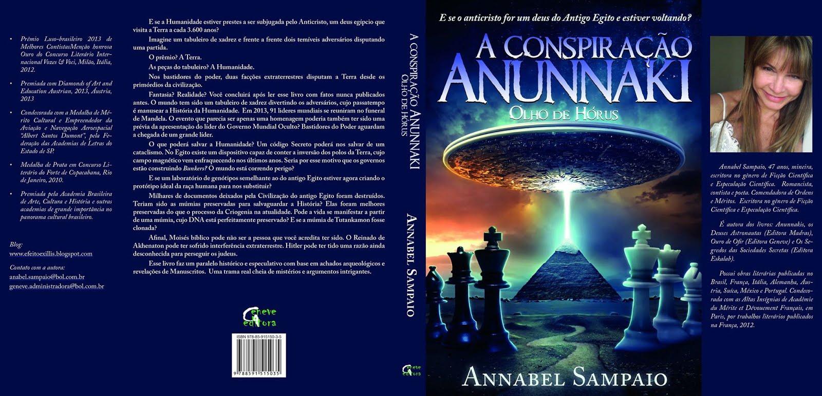 Novo livro! A Conspiração Anunnaki