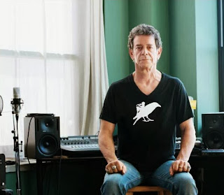 Lou Reed in his home studio, New York, 2008, Spin Magazine