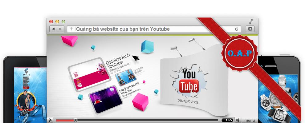 Quảng bá website trên Youtube