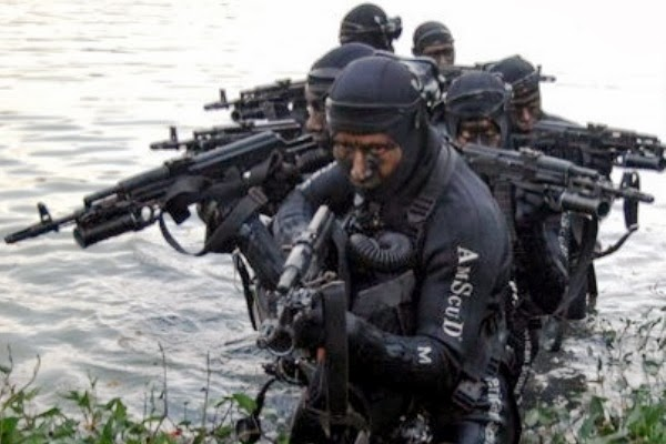 Ratusan Prajurit TNI-AL Jalani Seleksi Pasukan Elite