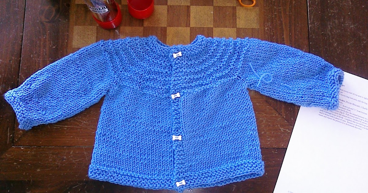 Knit with Me: Five Hour Baby Sweater