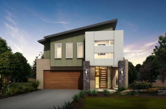 Fachadas de casas modernas con ideas para revestimientos for Ideas para frentes de casas