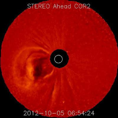 LLAMARADA SOLAR 05 DE OCTUBRE 2012