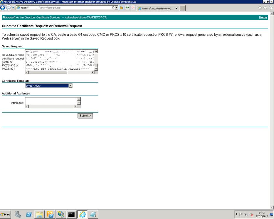 Wave16 lync 2010 and 2013 im integration into exchange 2013 owa save the signing request 7 we now need to complete the signing request using import exchangecertificate information on this cmdlet is available here yelopaper Gallery