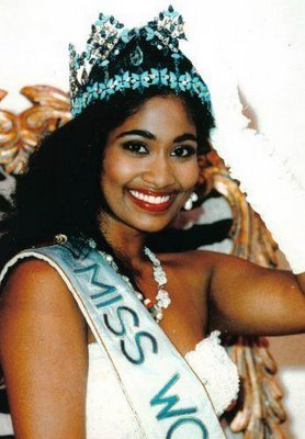 matagi mag beauty pageants lisa hanna   miss world 1993