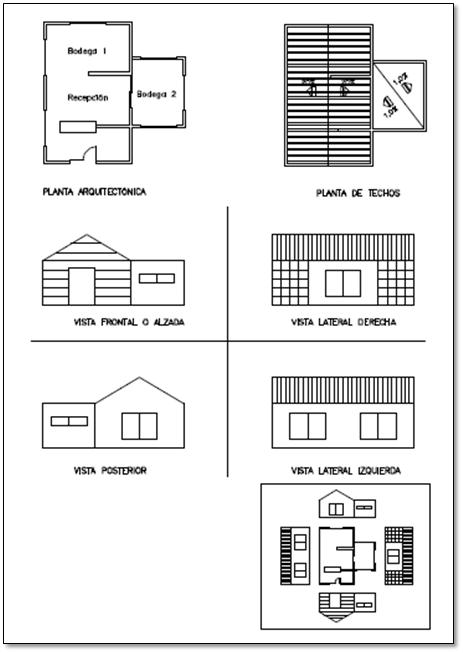 Construcci n interpretaci n de planos planos for Planos tecnicos arquitectonicos