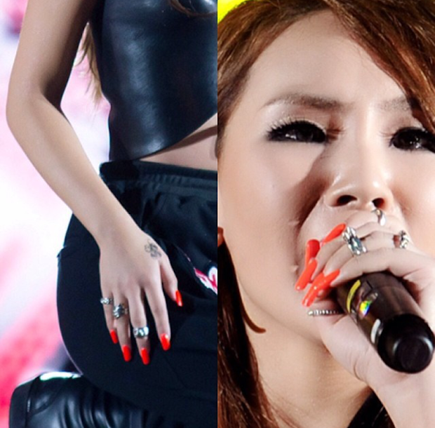 nailturally 2ne1 nail evolution