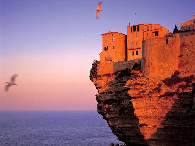 Fortaleza de Bonifacio, Córcega, Francia
