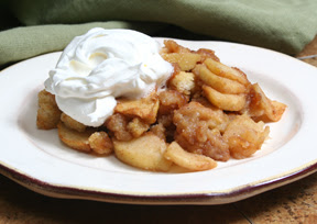 Lily Lemontree: At The Table: Apple Brown Betty
