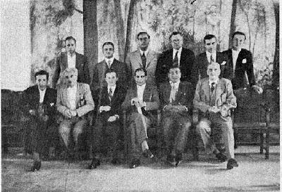 Participantes en el Torneo Internacional de Ajedrez de Reus 1936