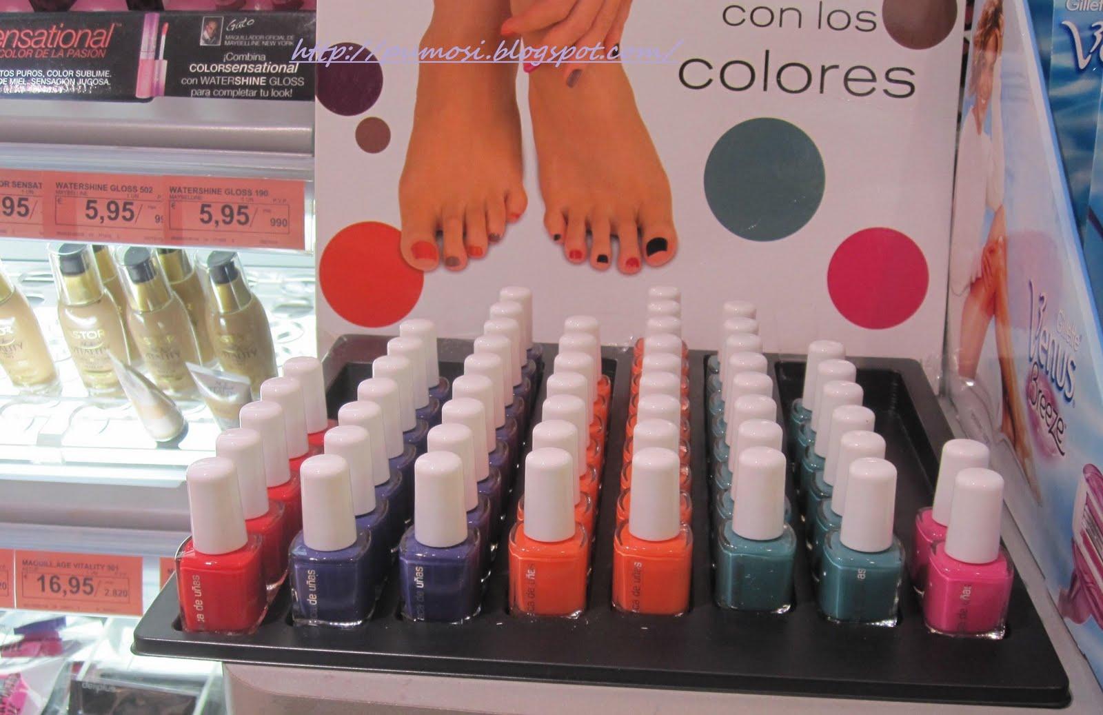 Beauty & Fashion Blog: NUEVAS MINI LACA UÑAS MECADONA-DELIPLUS