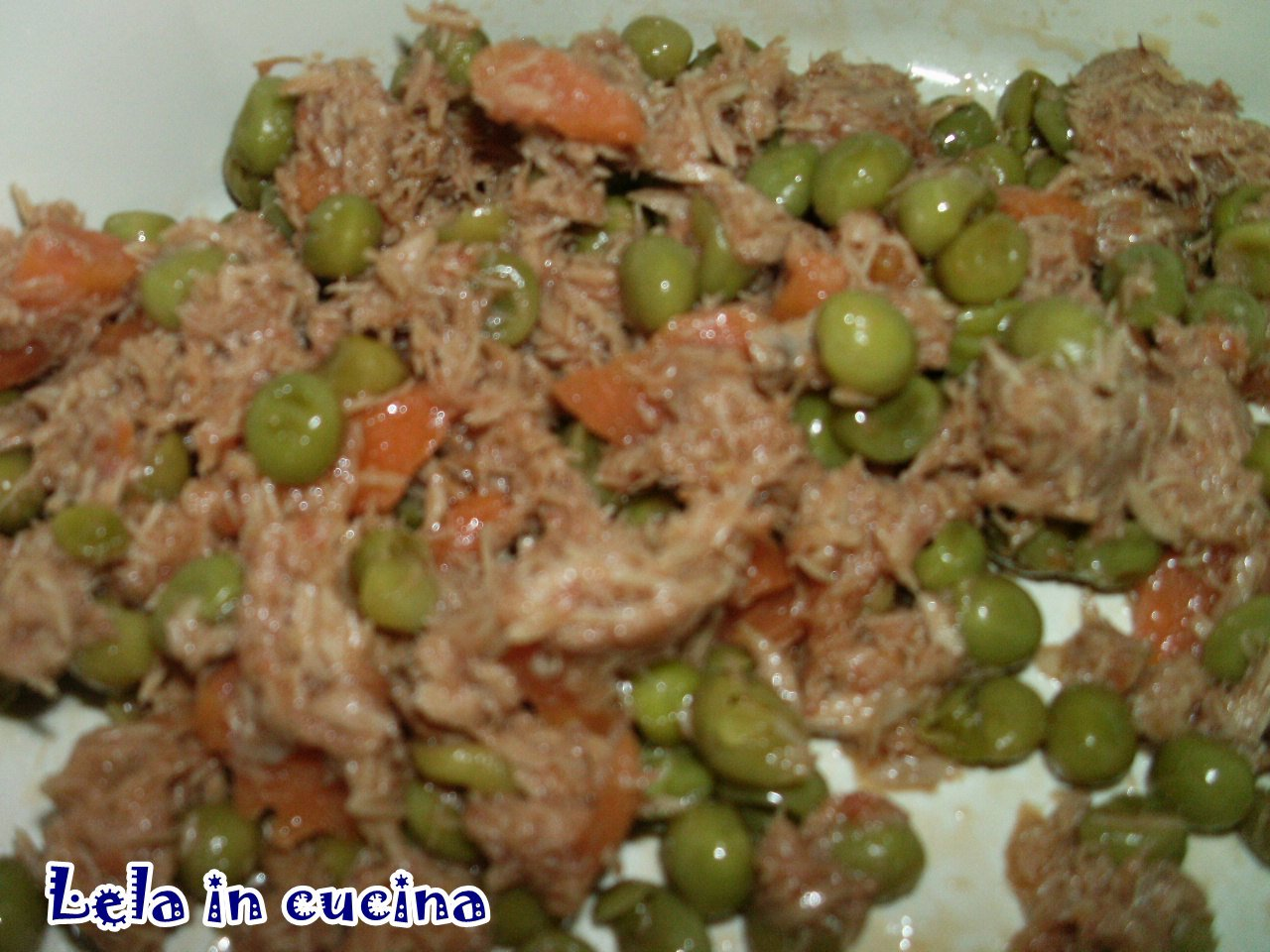 Lela in cucina tutti possono cucinare frittata al tonno e - Cucinare lenticchie in scatola ...