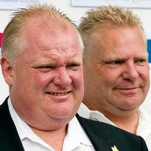 Rob & Doug Ford.