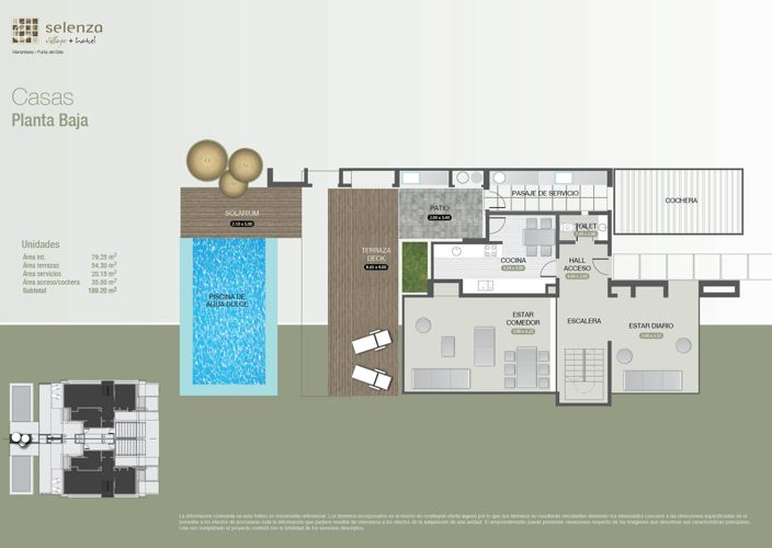 Selenza village hotel - Casas planta baja ...