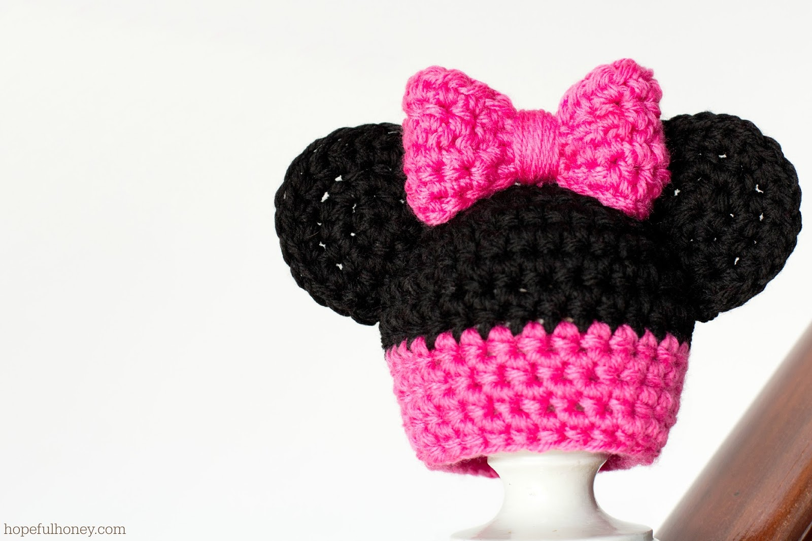 Newborn Minnie Mouse Inspired Hat - Interweave