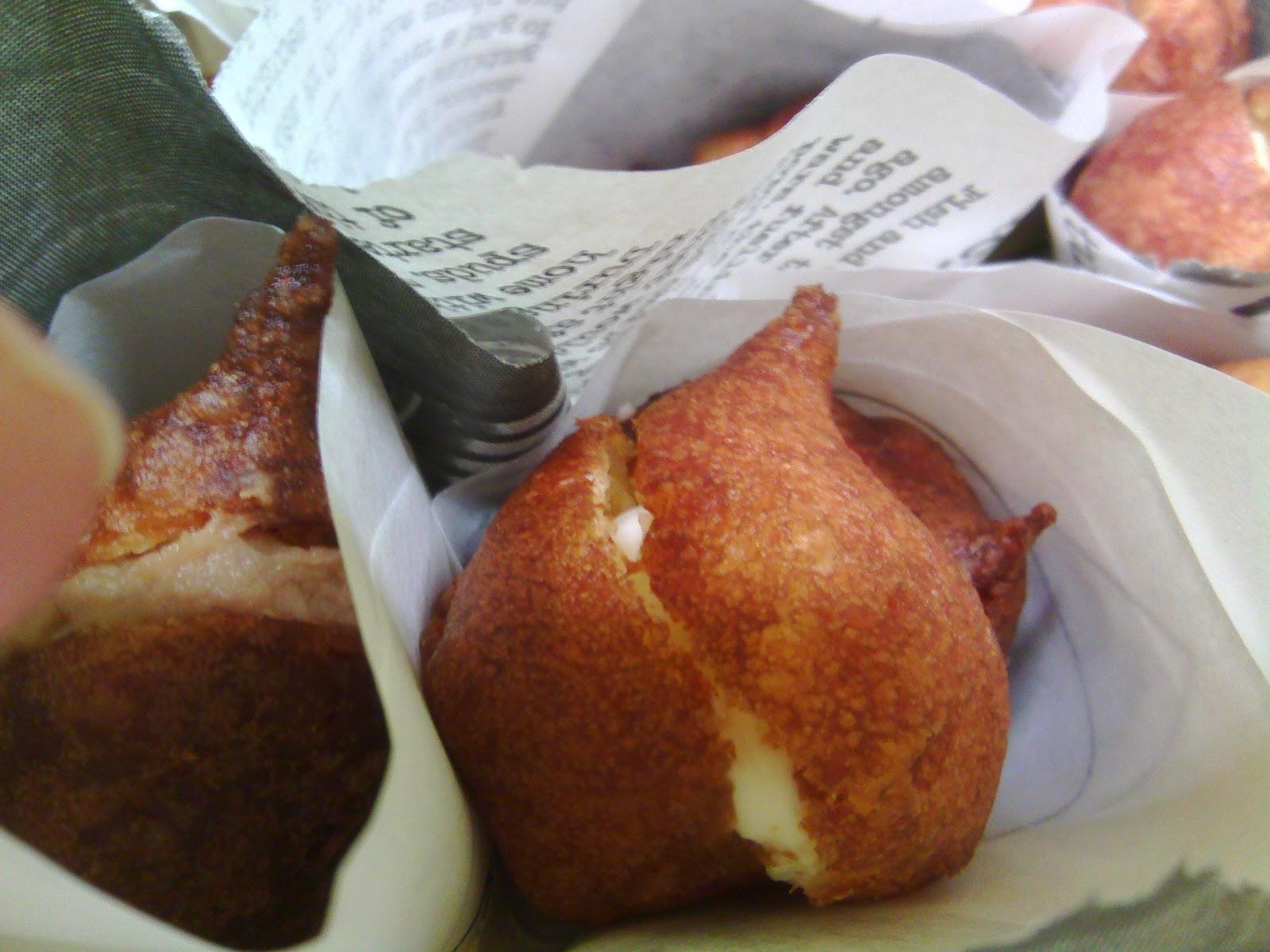 Buñuelos de queso brie
