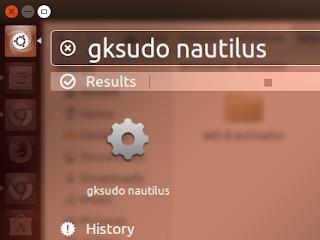 Masuk Nautilus Sebagai Root di Ubuntu