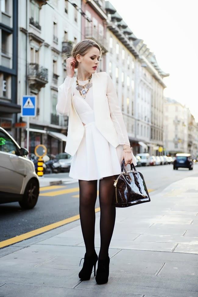 Fabulous Dressed Blogger Woman Kristina