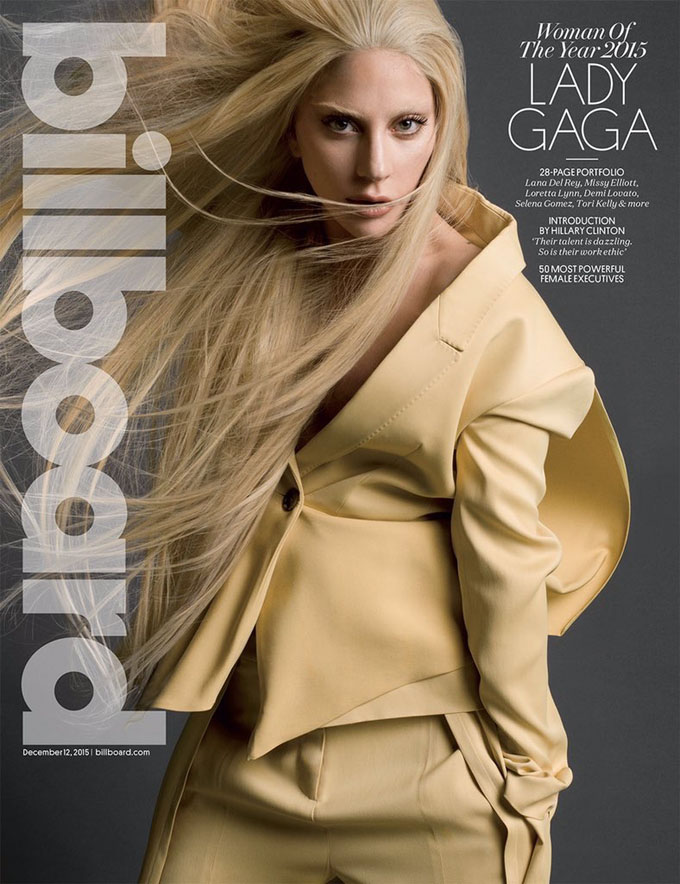 Lady Gaga became the woman of the year according to Billboard