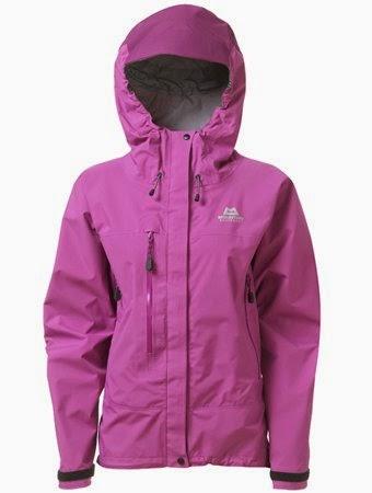 Jaket gunung warna ungu