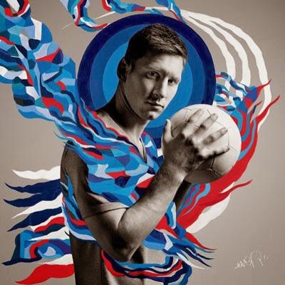 El Arte del Fútbol Ever y Danny Clinch para Pepsi con Leo Messi