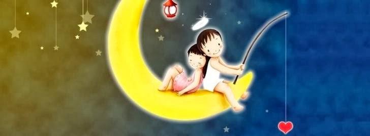 La luna como ventana de sueños dulces
