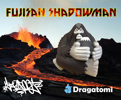 Shadowman Fujisan Vinyl Figure by Bigfoot One