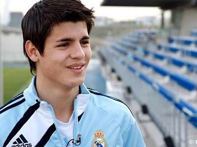 Alvaro Morata - Real Madrid Castilla (1)