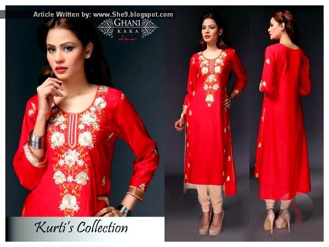 Ghanni Kaka Kurti Fashion 2015
