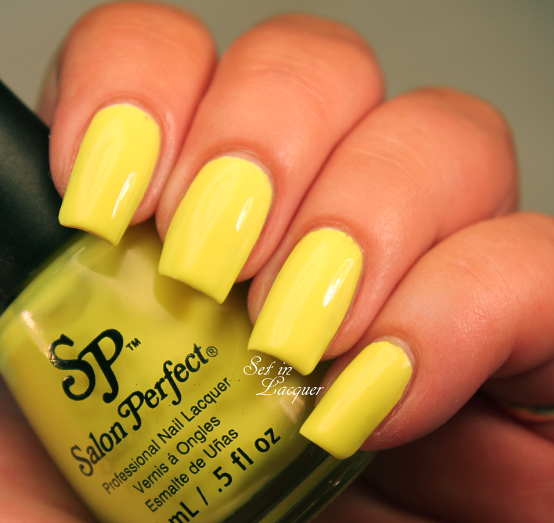 Salon Perfect - Yowza Yellow