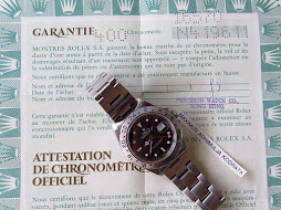 ROLEX EXPLORER II BLACK DIAL 40mm-ROLEX 16570 SERIE N-1993-AUTOMATIC CAL 3185-FULLSET BOX PAPERS