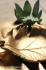 Air Dry Clay Leaf Bowls...