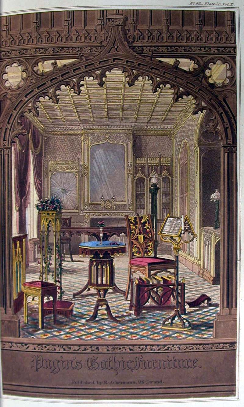 Gothic revival history and other thoughts for Gothic revival interior