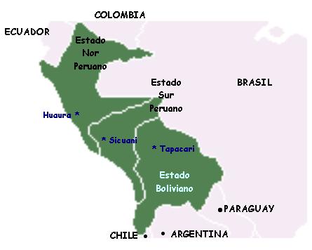 Por Qu   Fracas   La Confederaci  N Peruano Boliviana