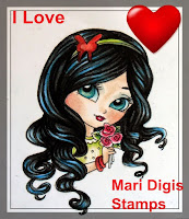 I Love Mari Digis Stamps