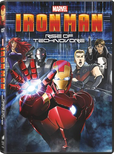  Iron Man La rebelin del technivoro DVDR NTSC Espaol Latino 