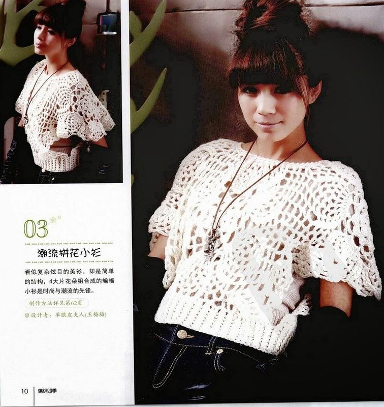 Patrones crochet japones - Imagui