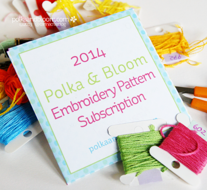 Subscribe to Polka & Bloom patterns in 2014