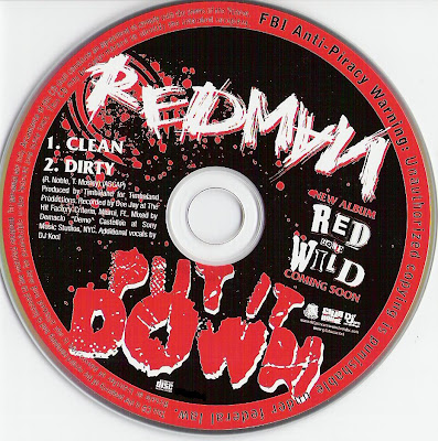 Redman – Put It Down (CDS) (2007) (320 kbps)