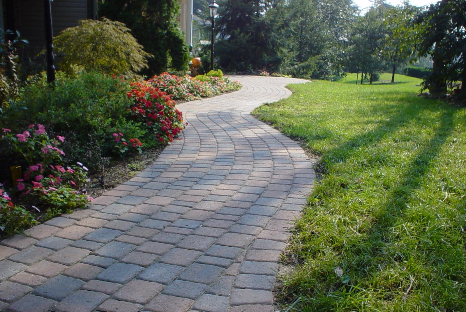 custom stoneworks u0026 design inc curvy style walkway in severn md