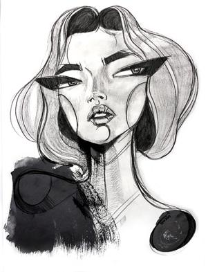 Art by Sara Woodrow (via nestpearls.blogspot.fr)