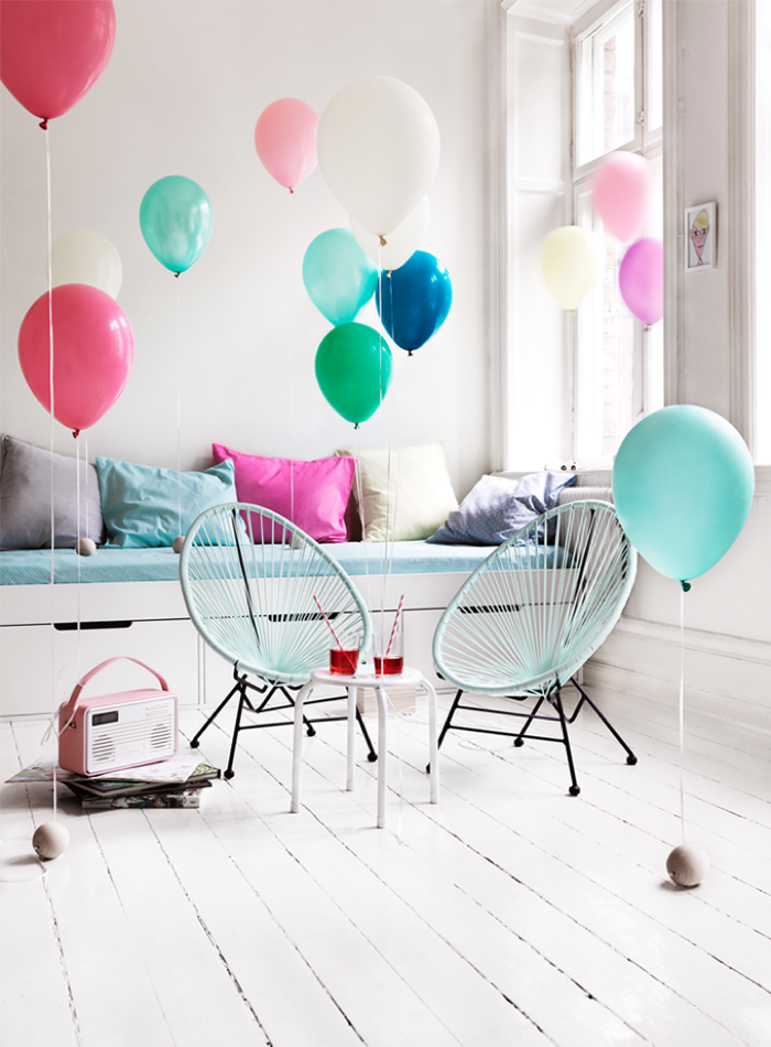 acapulco chair for kids - party for kids -photo Peta Binder