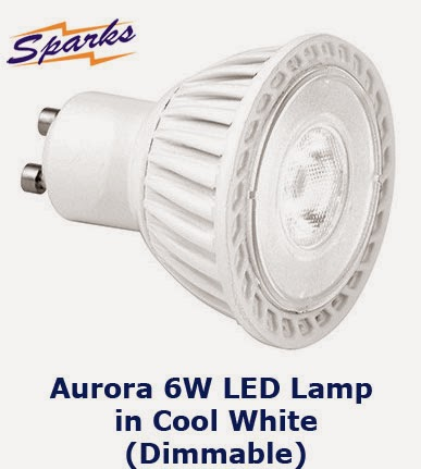 Aurora Dimmable 6W LED Lamp in Cool White