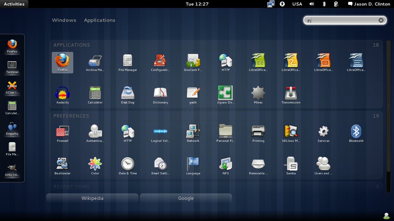 Image Gallery linux gnome desktop