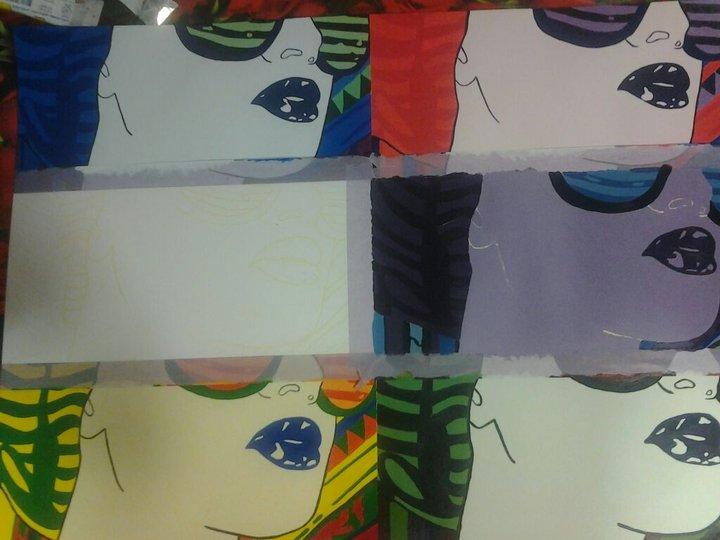 Grado Bellas Artes: Acrílico (tintas planas)