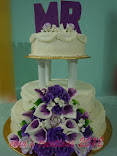 Kek Kahwin 3 tier (Buttercream)