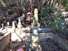 村上武吉の墓(山口県周防大島町大字内入)